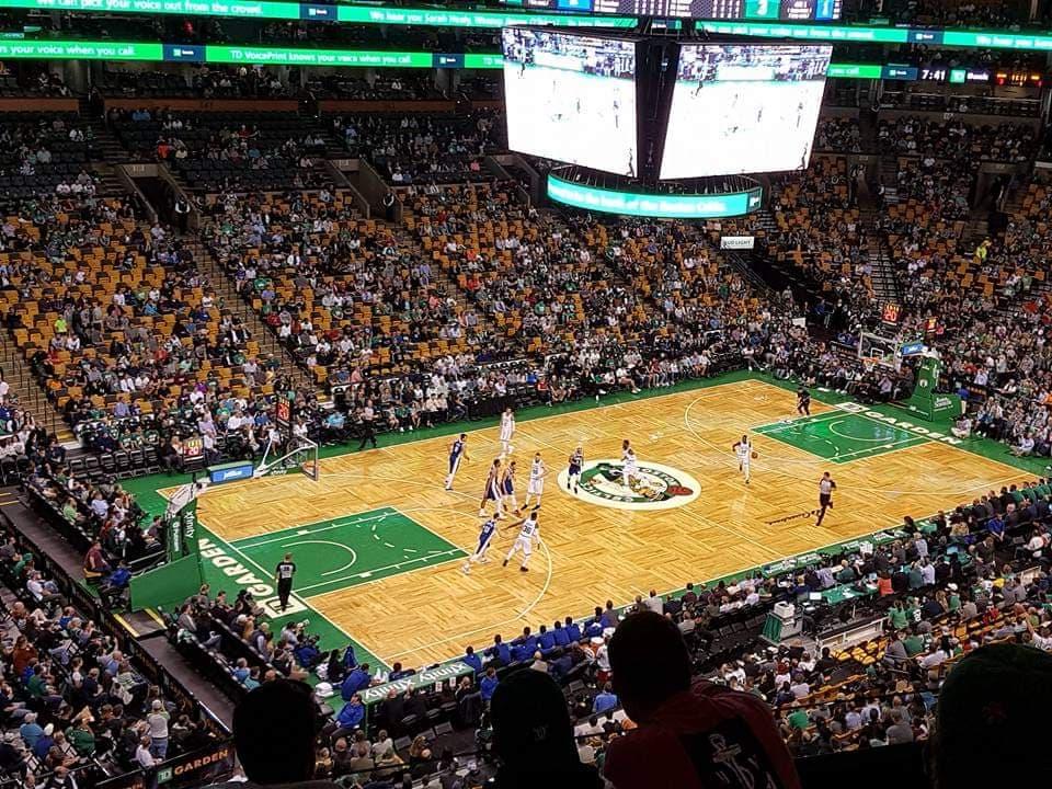 boston celtics basketball game td gardens