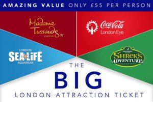 attractiontix, london big ticket