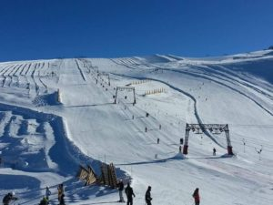 Skiing in the French Alps - Les Deux Alps at ski france