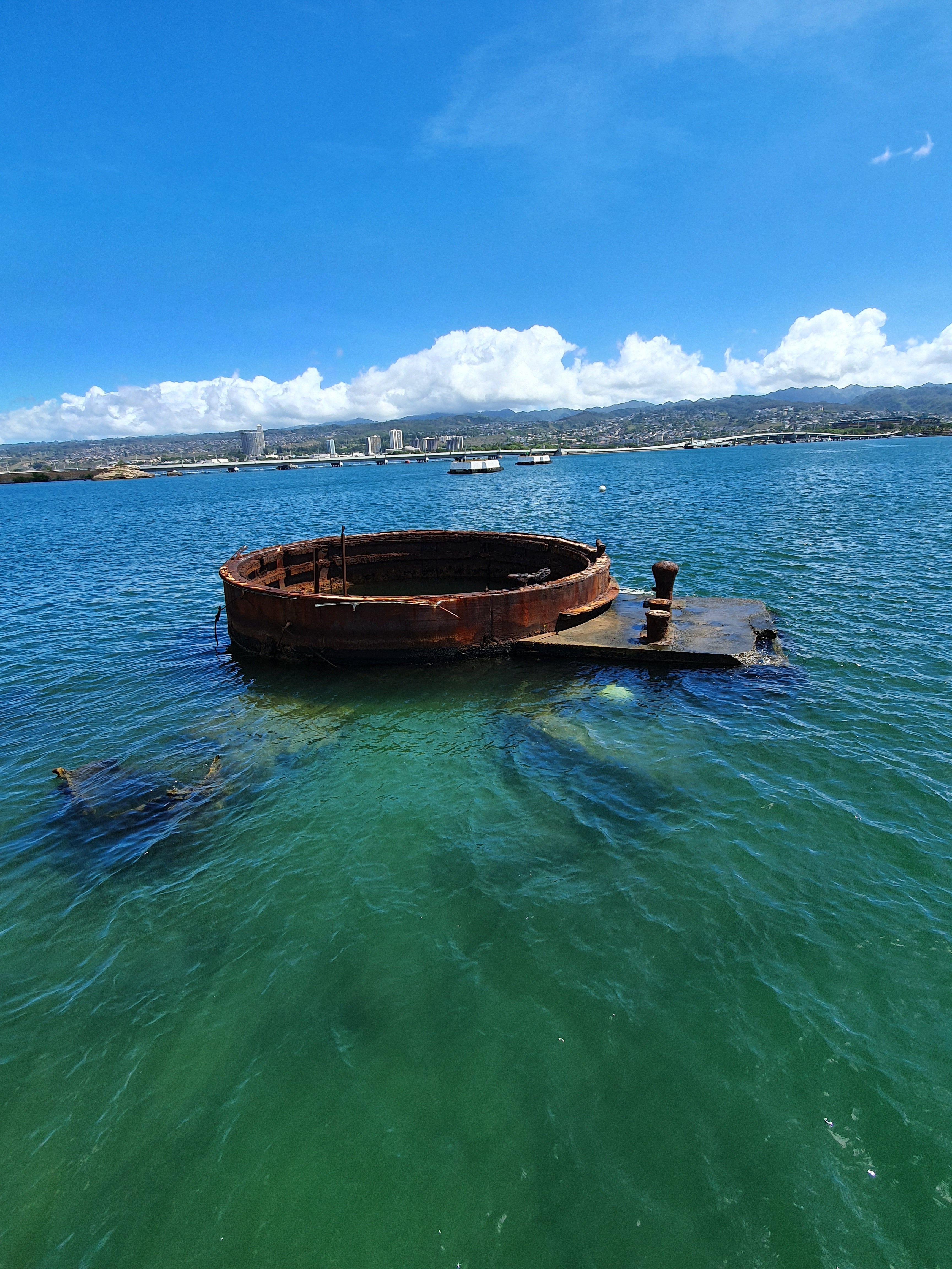 pearl harbour memorial USS Arizona